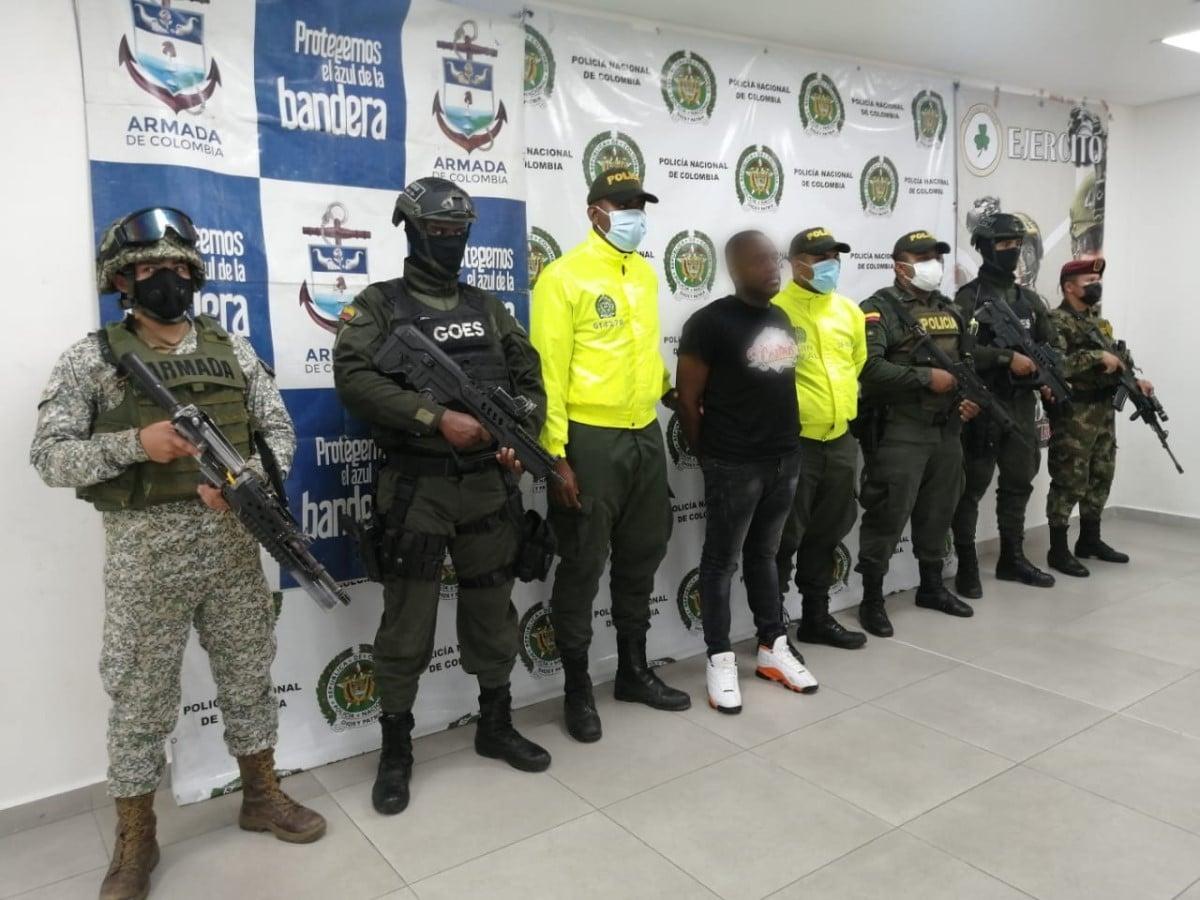 Capturan a 'Cheo', presunto cabecilla de banda dedicada a la extorsión en Buenaventura