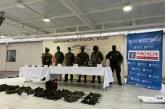 Incautaron armamento del grupo armado Óliver Sinisterra, en Nariño