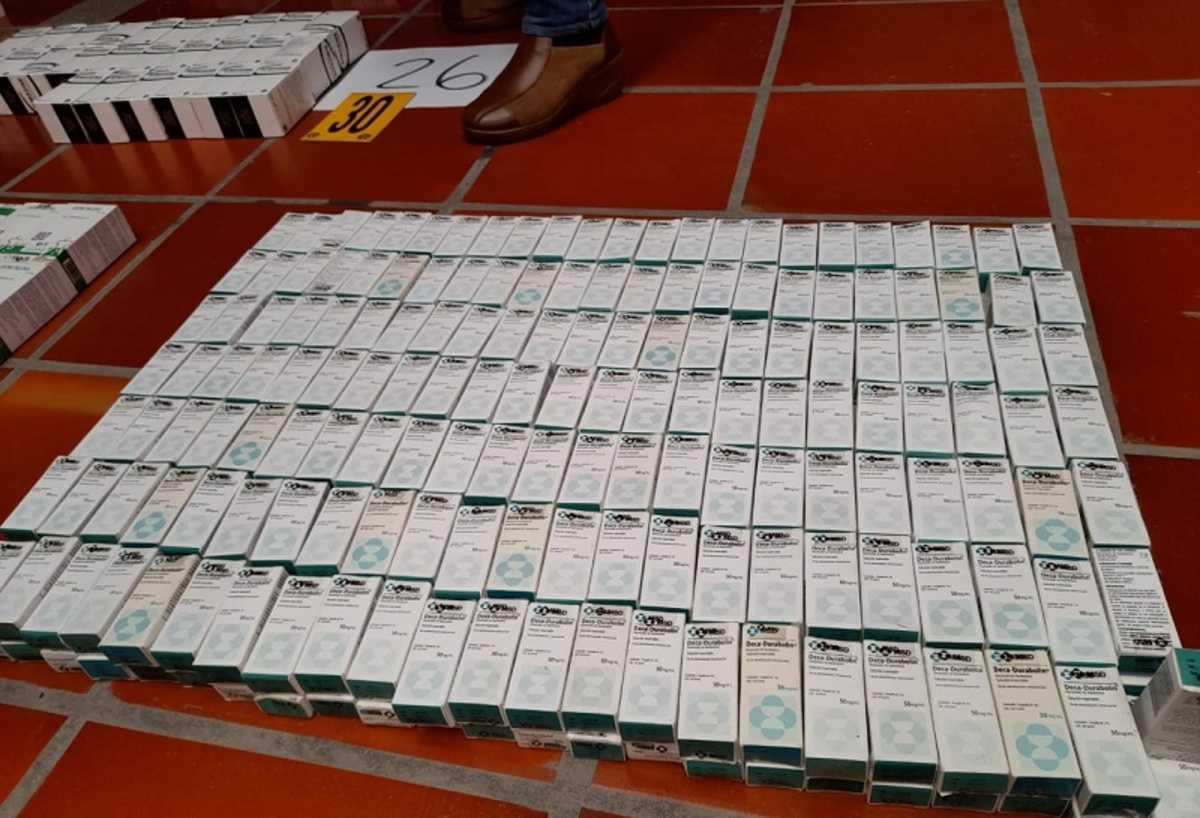 Desmantelan banda que vendía medicamentos falsos por redes sociales
