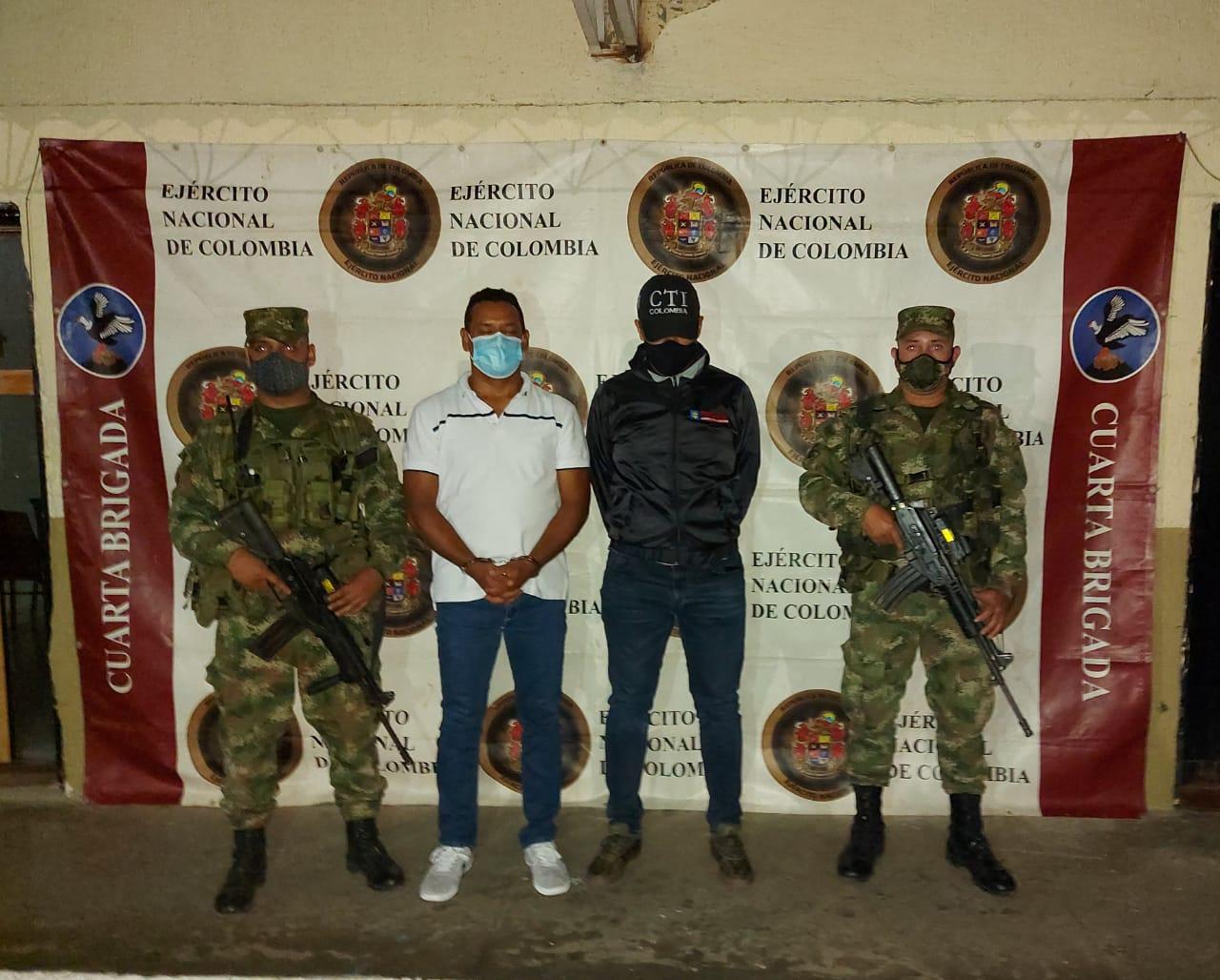 Cayó alias 'J', presunto enlace del narcotráfico con mafia italiana
