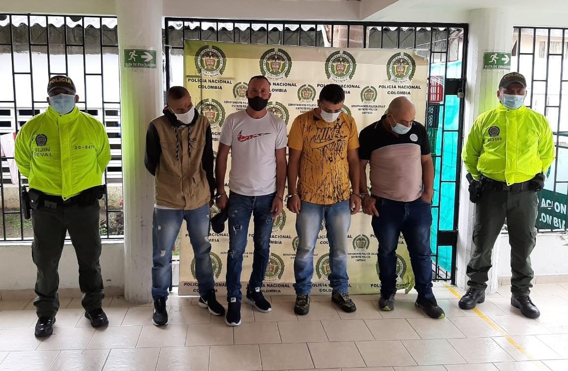 Capturados cuatro presuntos integrantes de la banda 'Los Del Centro'