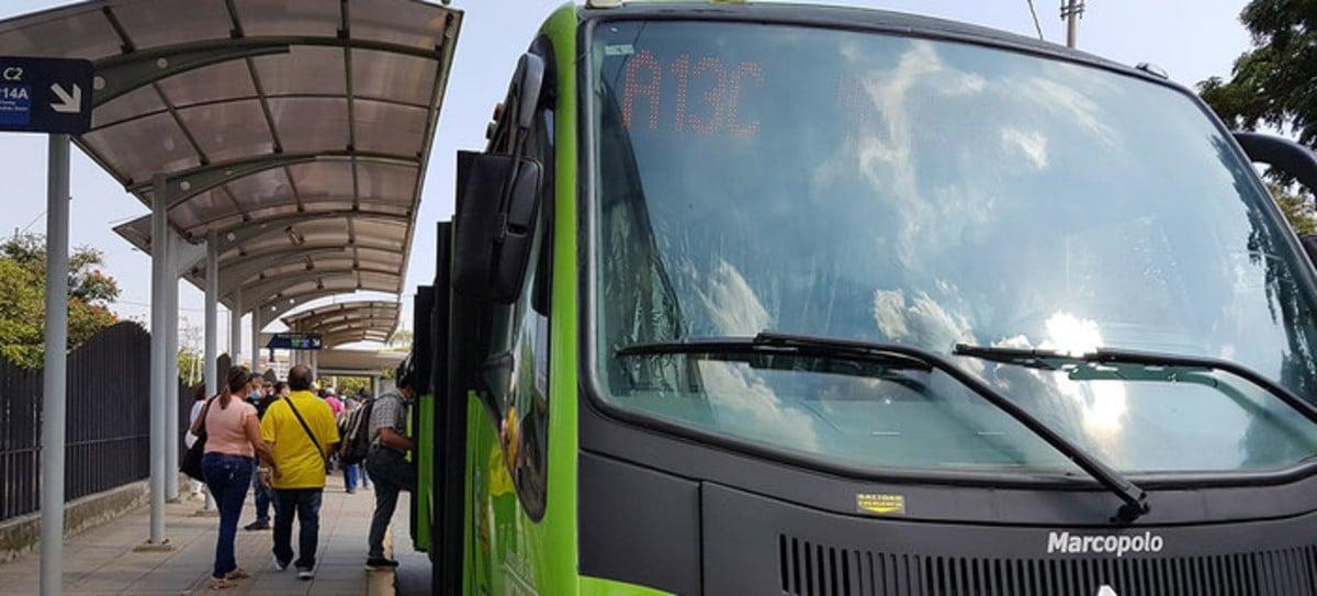 En el 2020 se redujo en un 50,6% el uso de transporte masivo en Cali