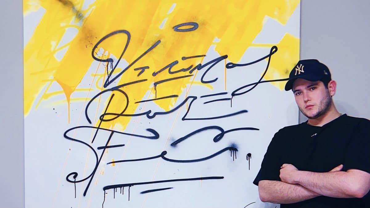 Enrique Enn, el artista callejero que emerge en el exterior