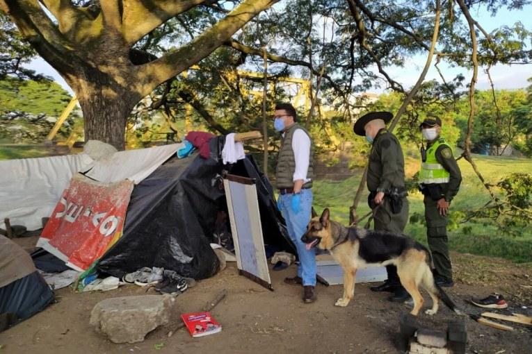 Autoridades de Cali realizan controles en asentamientos de venezolanos
