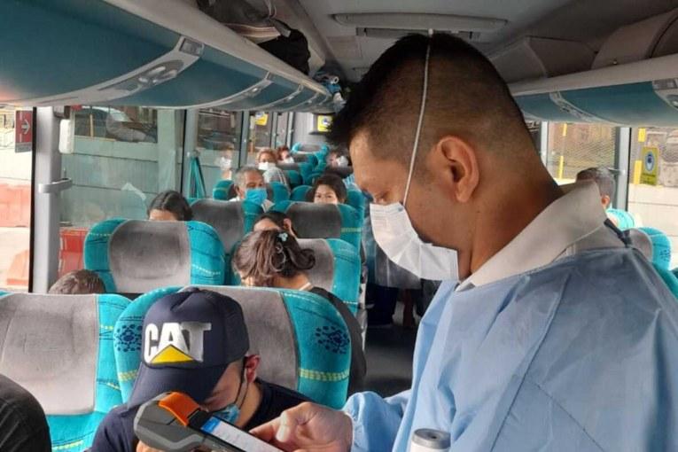 Pasajera con Covid-19 murió en vehículo que cubría la ruta Bogotá - Pasto