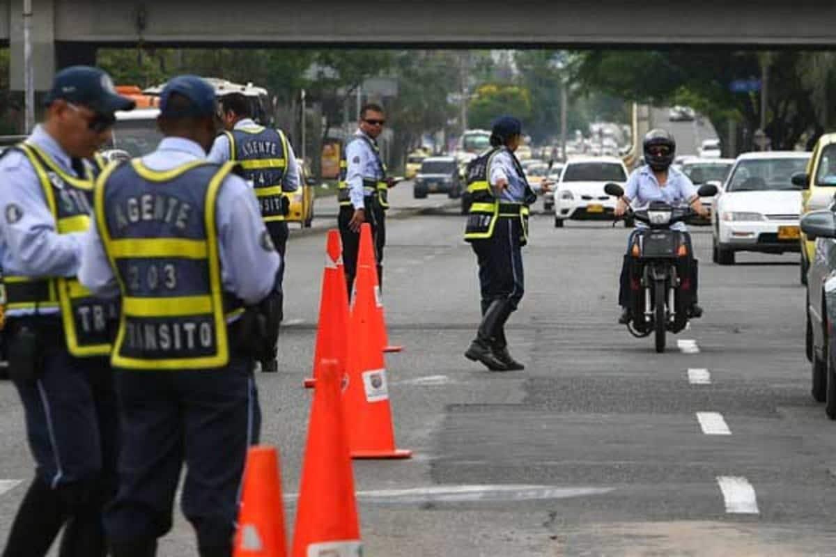 Agentes de tránsito de Cali manifestaron preocupación por riesgo de contagio de Covid-19