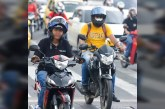 Motociclistas que no utilicen bien el casco serán multados económicamente