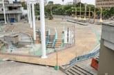 Obras de restauración en la plazoleta Jairo Varela presentan un avance del 85%