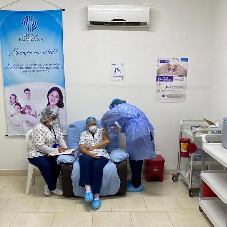 Inició Plan de Vacunación contra el Covid-19 en cinco municipios del Valle
