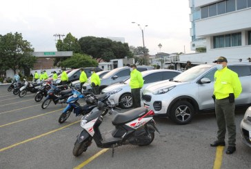 Autoridades recuperaron 23 vehículos que habían sido hurtados en Cali