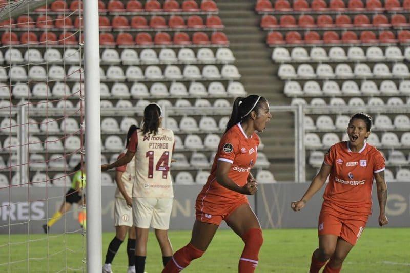 América de Cali goleó al Universitario en la Copa Libertadores Femenina