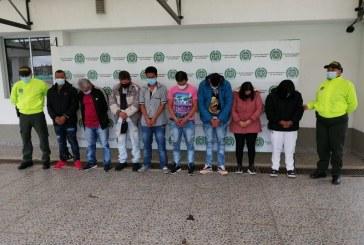 Caen integrantes de 'La Fachada', dedicados a vender drogas en Popayán