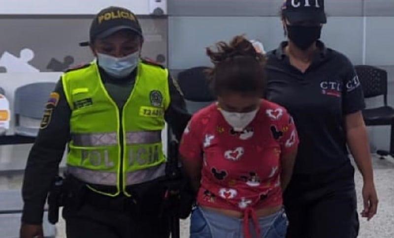 Detenida alias La Chiqui por herir de muerte a una mujer en Cali