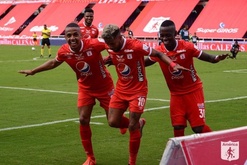 América de Cali vs Atlético Paranaense en Copa Suramericana