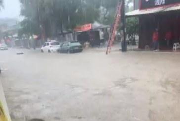 Fuertes lluvias y calles inundadas este miércoles en Cali