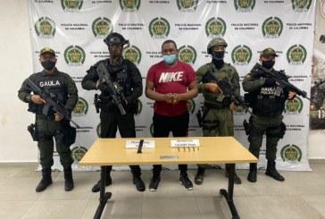 Capturado alias Pepo, cabecilla de una banda criminal en Buenaventura