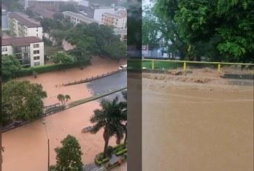 Emergencias se presentaron en varios sectores de Cali por fuertes lluvias