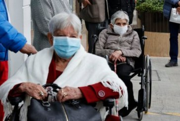 Hoy en Cali 1.289 adultos mayores fueron vacunados contra covid 19