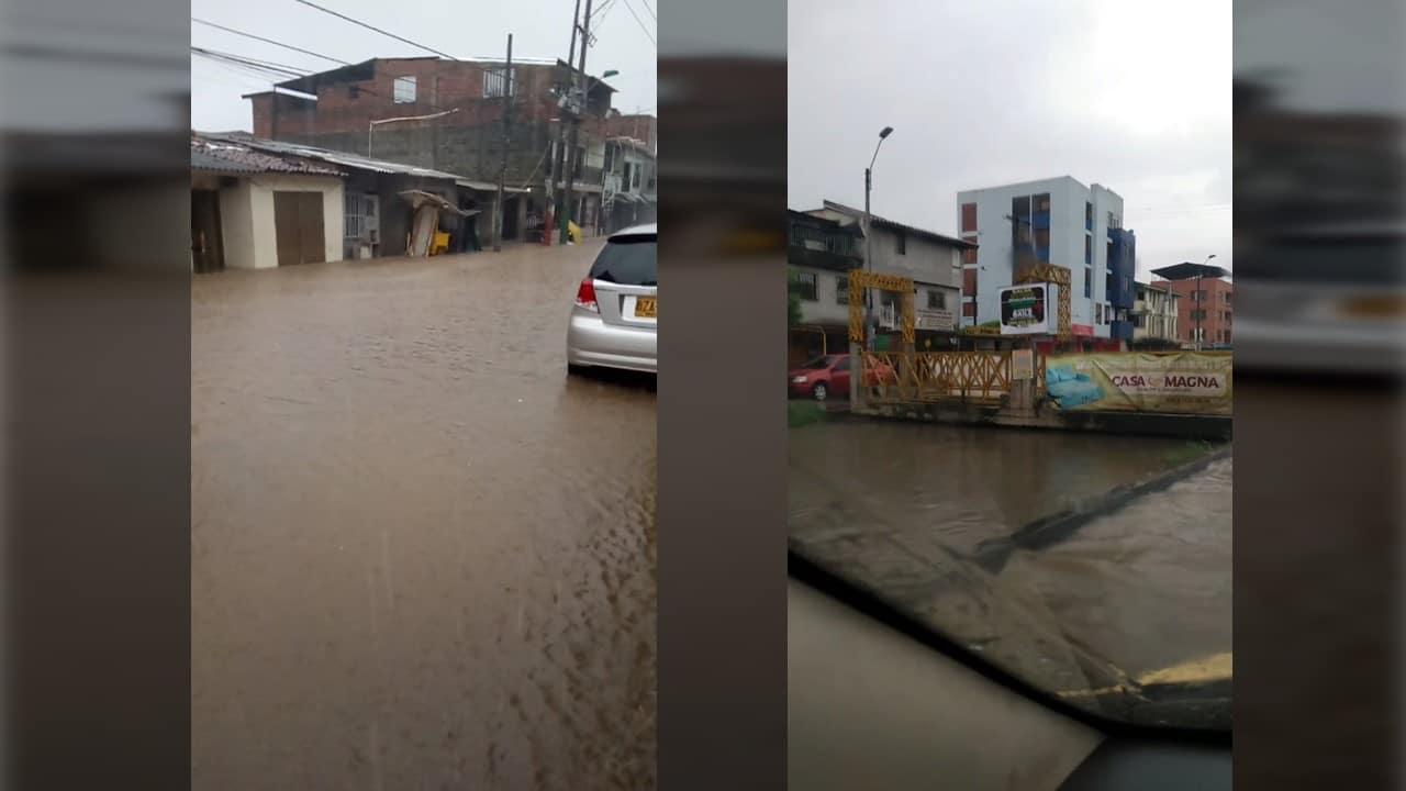 Fuertes lluvias en Cali generaron afectaciones en diferentes sectores