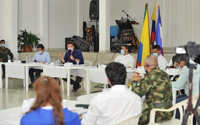 """""""2.000 militares reforzarán seguridad en el norte del Cauca"""": Mindefensa"""
