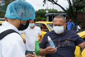 277 taxistas participaron en la estrategia 'Cali se vacuna por la vida'