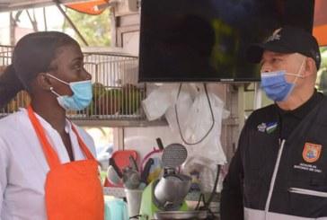 Realizan control a vendedores informales en el parque El Ingenio