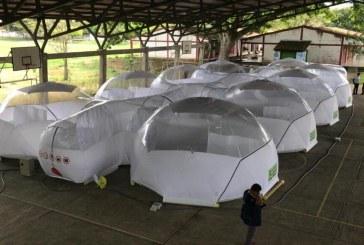Universidad de la Salle entregó módulos portátiles de aislamiento al Valle