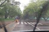 Este es el panorama en Cali, luego de las fuertes lluvias de la tarde