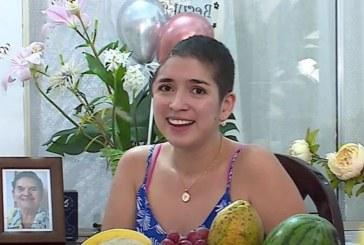 Paula Ágredo, joven caleña que es testimonio de fortaleza