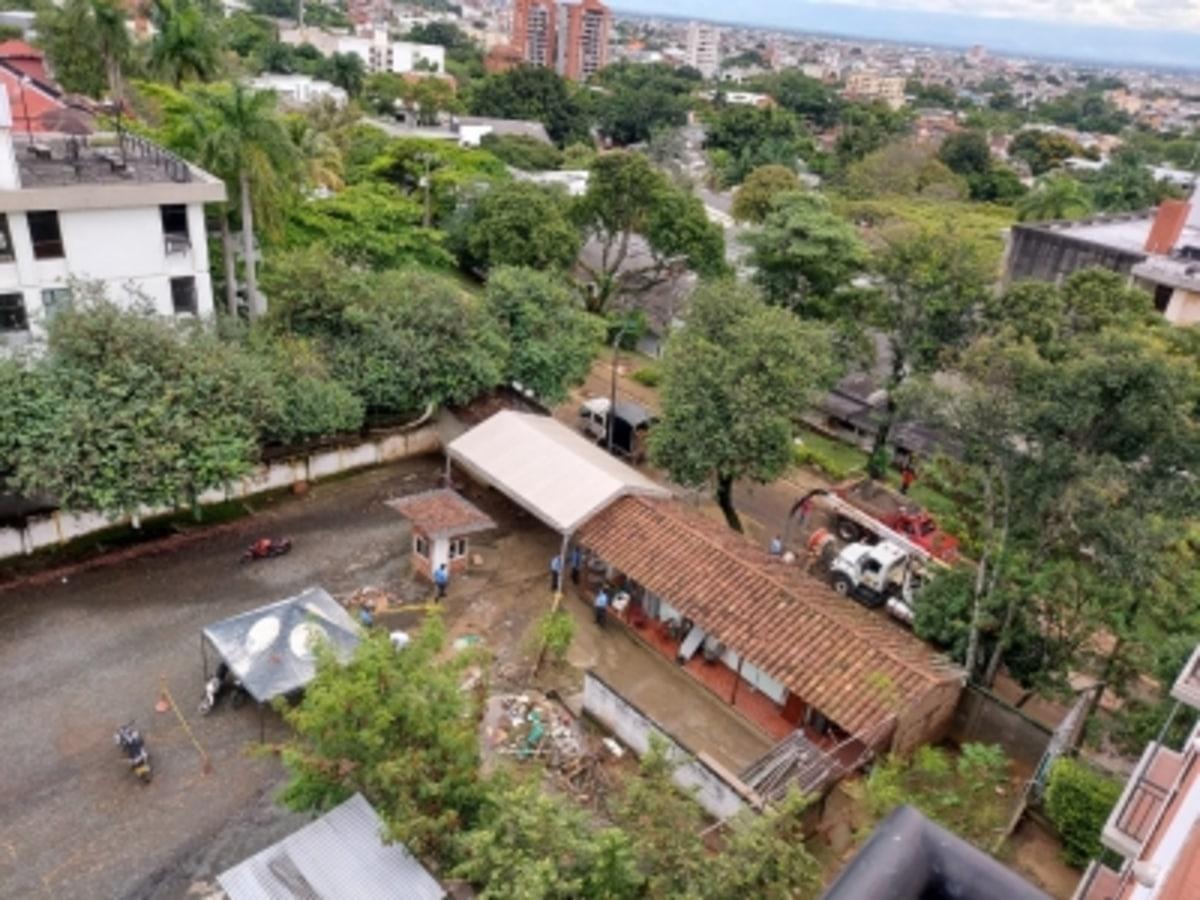 Reparan daños causados por lluvias, en sede San Fernando de Univalle