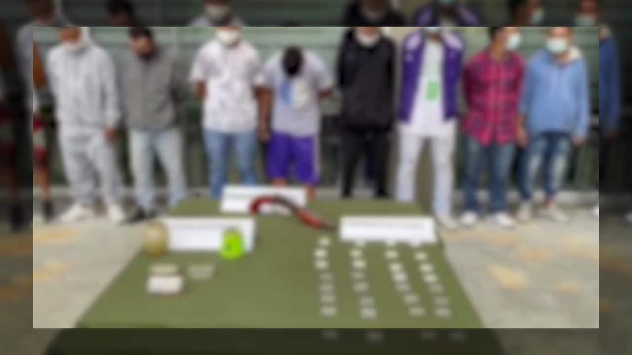 La banda delincuencial 'Los Viejos' fue desarticulada en Vijes, Valle