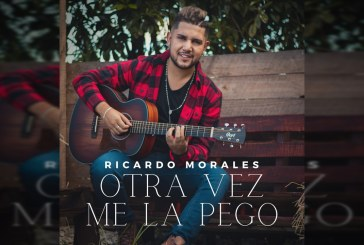'Otra vez me la pego' es el nuevo sencillo del artista Ricardo Morales