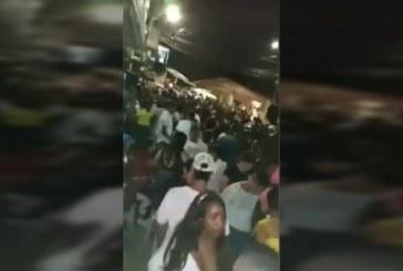 Policía intervino una fiesta con más de 300 personas el pasado fin de semana