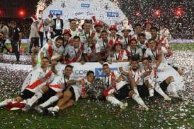 Santos Borré marcó y River Plate se adjudicó la Supercopa Argentina