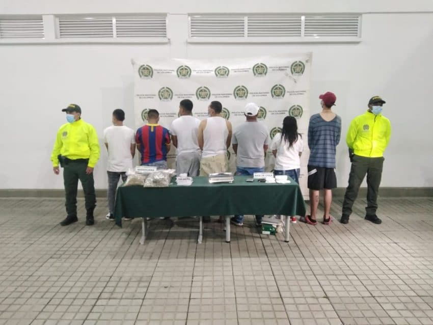 12 presuntos integrantes de la banda criminal Tequila fueron enviados a la cárcel