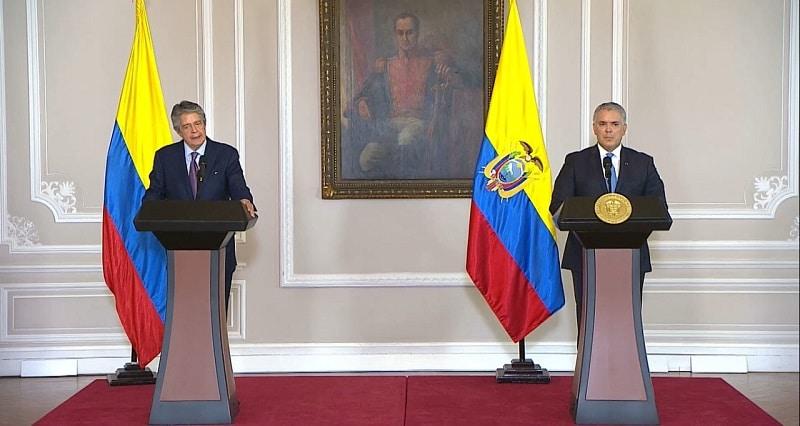 El presidente Duque ayudará a Ecuador con su reapertura económica