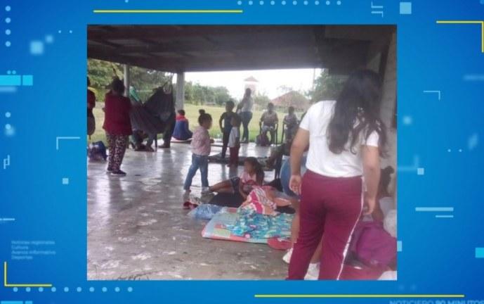 Varias familias salen desplazadas por combates al norte del Cauca