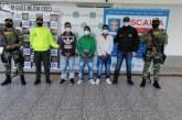 Cárcel a 3 presuntos integrantes de 'Los de la 15' en el Cauca