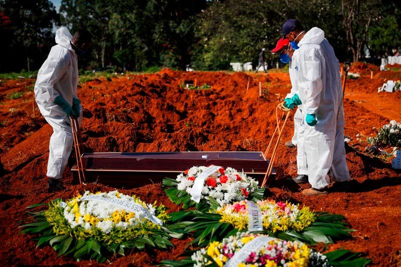 """Alertan que Brasil vive una """"catástrofe humanitaria"""" por la pandemia"""