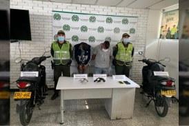 Autoridades capturaron a dos presuntos 'motoladrones' en el sur de Cali