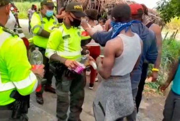 Banda pretendía movilizar ilegalmente a 97 haitianos por vías del Valle