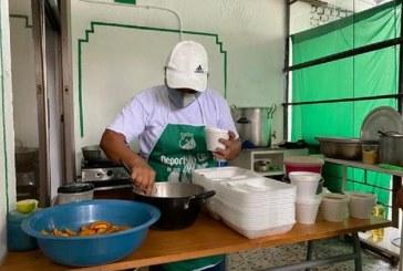 Barristas del América y del Deportivo Cali inauguraron comedores comunitarios en Cali