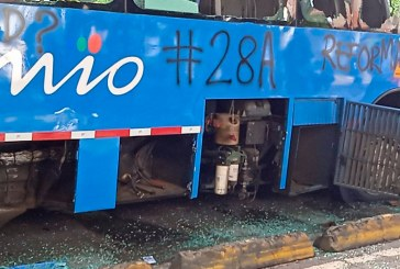 Póliza para vehículos de servicio público cubrirá 100% de daños por manifestaciones