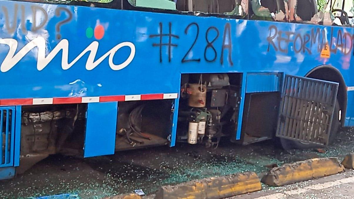 Proyecto de ley aumentaría años de cárcel por actos vandálicos