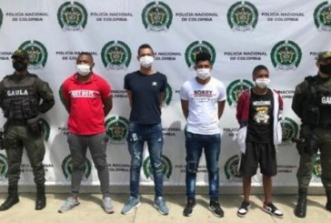 Cárcel para presuntos miembros de 'Los Chene' por secuestro de ingeniero en Cali