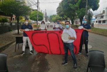 Comerciantes nocturnos realizaron manifestación por su crisis actual