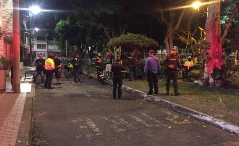 121 personas sancionadas y 89 comparendos a vehículos dejó el toque de queda continuo en Valle