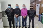 Dos hombres judicializados por presunta agresión física a sus familiares