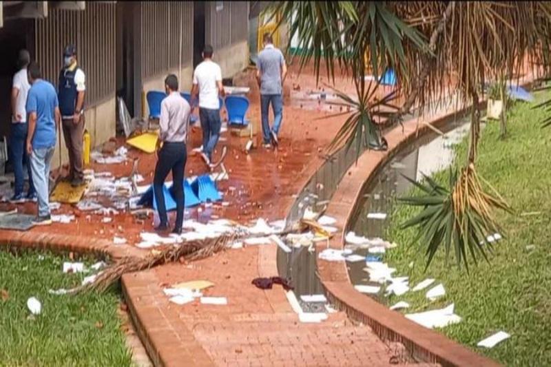 Jornada violenta dejó graves afectaciones en el CAM de Cali