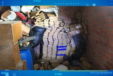 Más de una tonelada y media de cocaína era almacenada en Jamundí